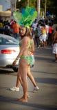 狂欢节的执行者,牙买加 免版税库存照片