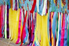 狂欢节的颜色 库存图片