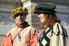 狂欢节罗马 库存照片