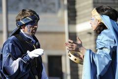 狂欢节罗马 免版税库存照片