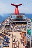狂欢节船自由 免版税库存图片