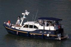 狂欢节船 免版税库存照片