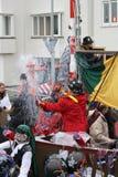 狂欢节街道执行者在马斯特里赫特 免版税图库摄影