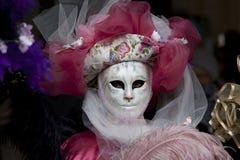 狂欢节装饰著名意大利屏蔽传统venezia威尼斯 库存图片