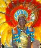 狂欢节西方印度的游行 库存照片