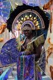 狂欢节西方印第安的利兹 免版税图库摄影