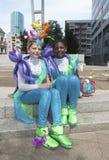 狂欢节队伍在鹿特丹 免版税库存照片