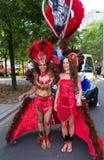 狂欢节队伍在鹿特丹 免版税库存图片