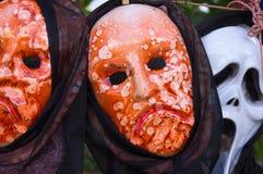 狂欢节面具在Constanza 免版税图库摄影