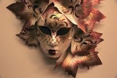 狂欢节面具,威尼斯,意大利 免版税图库摄影
