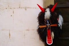 狂欢节面具,普图伊,斯洛文尼亚 免版税库存照片