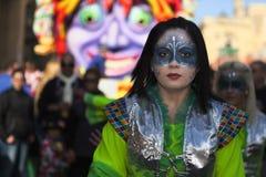 狂欢节马耳他 免版税图库摄影