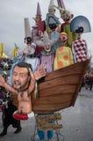 狂欢节,维亚雷焦,意大利,欧洲 免版税库存图片