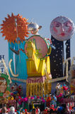 狂欢节, Viareggio,意大利 免版税图库摄影