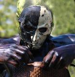 狂欢节戴假面具的人 免版税库存照片