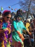 狂欢节2018年新奥尔良 免版税库存图片