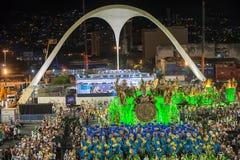 狂欢节2014年-里约热内卢 库存图片