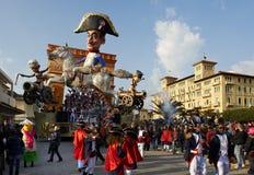 狂欢节viareggio 免版税库存图片