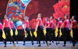 狂热舞基本的技巧这全国舞蹈训练 免版税库存图片
