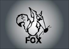 狐狸向量 皇族释放例证