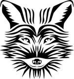 狐狸头 免版税库存照片