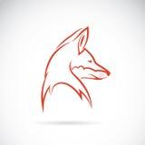 狐狸的向量图象 免版税图库摄影
