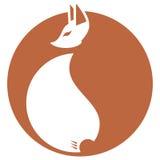 狐狸符号 免版税库存图片