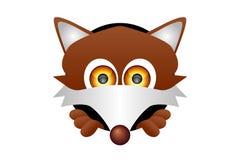 狐狸题头 免版税库存照片