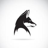 狐狸头的传染媒介图象 向量例证