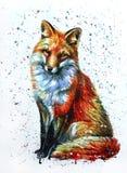 2狐狸 免版税图库摄影