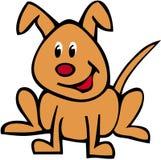 狗名为reque 向量例证
