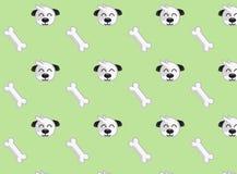 狗样式-无缝的纹理 免版税库存照片