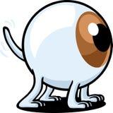 狗眼睛 库存图片