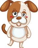 狗纵向s 向量例证