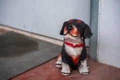 狗雕象 库存图片