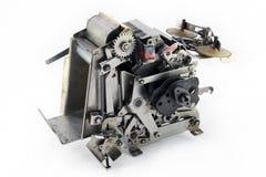 狗零件机器人打字机 免版税图库摄影