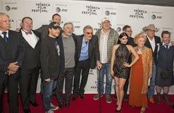 `狗年`演职员会集在2017年Tribeca电影节 免版税库存图片
