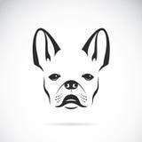 狗(牛头犬)的向量图象 皇族释放例证