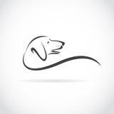 狗(达克斯猎犬)的传染媒介图象 库存例证
