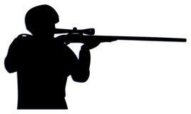 狙击手 皇族释放例证