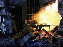 狙击手 免版税库存照片