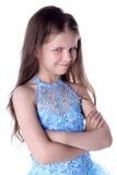 狡猾的女孩 免版税库存照片