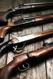 狩猎步枪的ollection 图库摄影