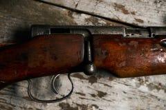 狩猎步枪的ollection 库存照片