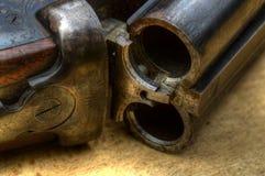狩猎猎枪细节照片 免版税库存图片