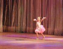 独奏的舞厅舞 库存照片