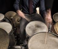 独奏的鼓 图库摄影