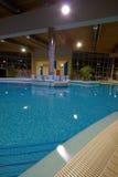 独有的池游泳 库存照片