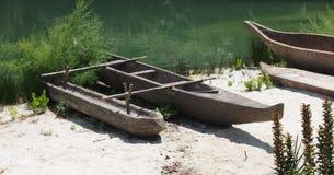 独木舟在公园 图库摄影
