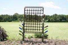 独特的显示在西方田纳西农业研究中心 库存图片